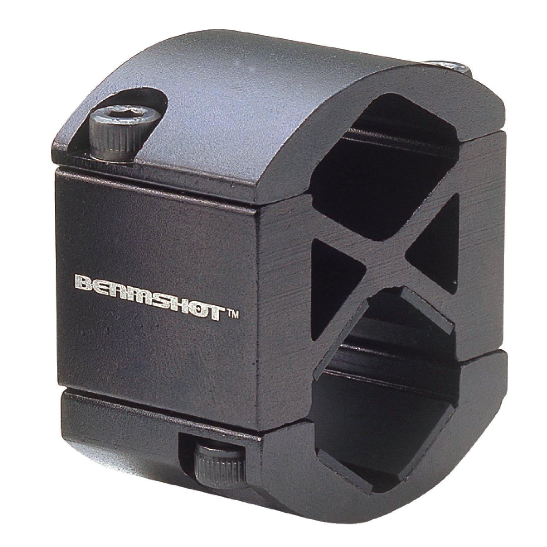 Beamshot UB1 Universal Barrel Mount, Black, for 3/4 inch Diameter Laser Sight & Flashlight by Beamshot