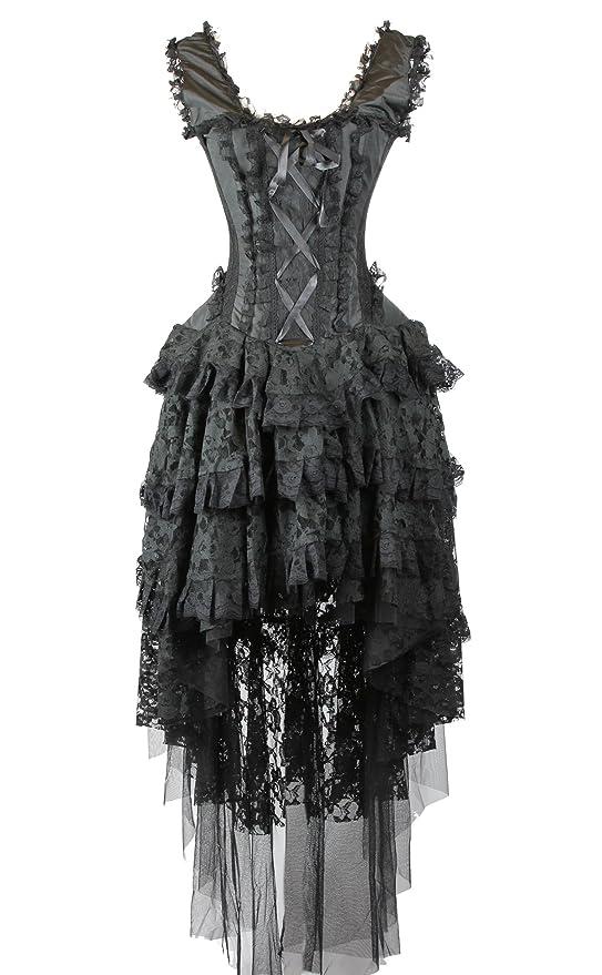 SteampunkClothing Steampunk Corset Dress  AT vintagedancer.com