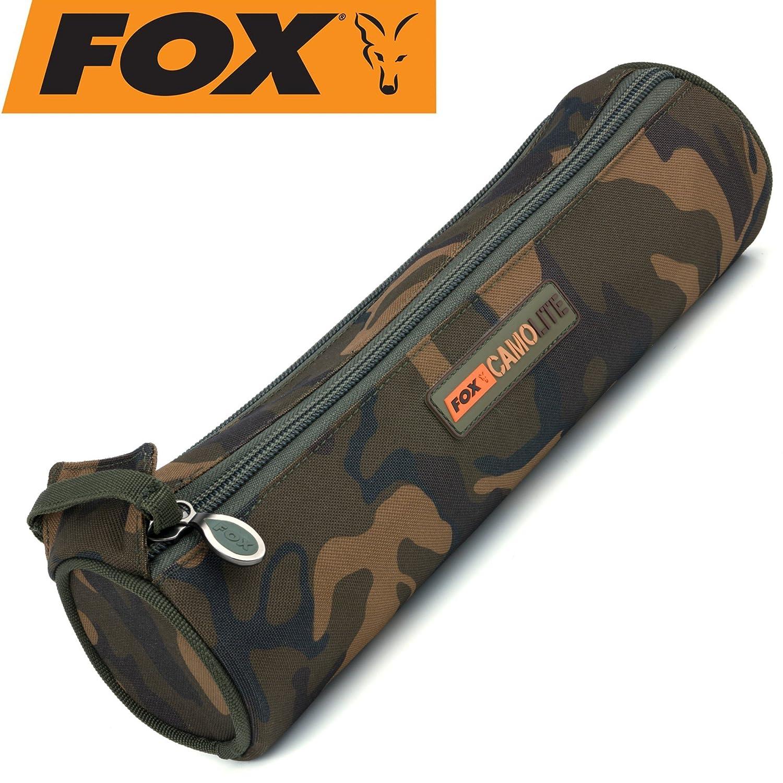Fox Camolite Spool case large 35x9,5cm Angeltasche f/ür Angelschnur /& Vorfachschnur Spulentasche Tackletasche f/ür Angelspulen