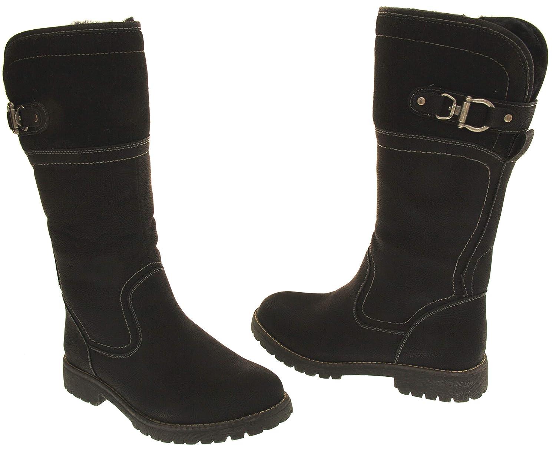 Bottes Cuir Footwear Mi Keddo Mollet Studio Simili qwng4n0E