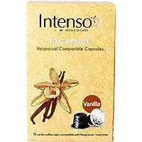 Intenso Vanilla Flavour Coffee - 10 Capsules - Compatible with Nespresso