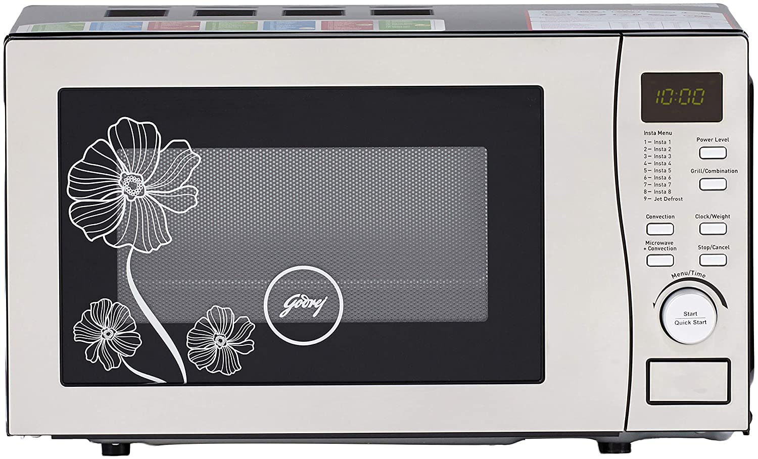 Godrej 20 L Convection Microwave Oven (GMX 20 CA5 MLZ, Silver): Amazon.in:  Home & Kitchen