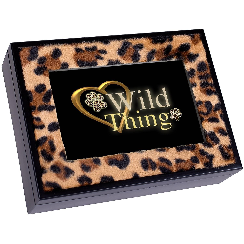 大人女性の Wild Print Thing Leopard Print Black Cottage Garden Thing Digital Music Cottage Box Plays Wild Thing B0090R8YPM, パリスパートナー:30558fec --- arcego.dominiotemporario.com