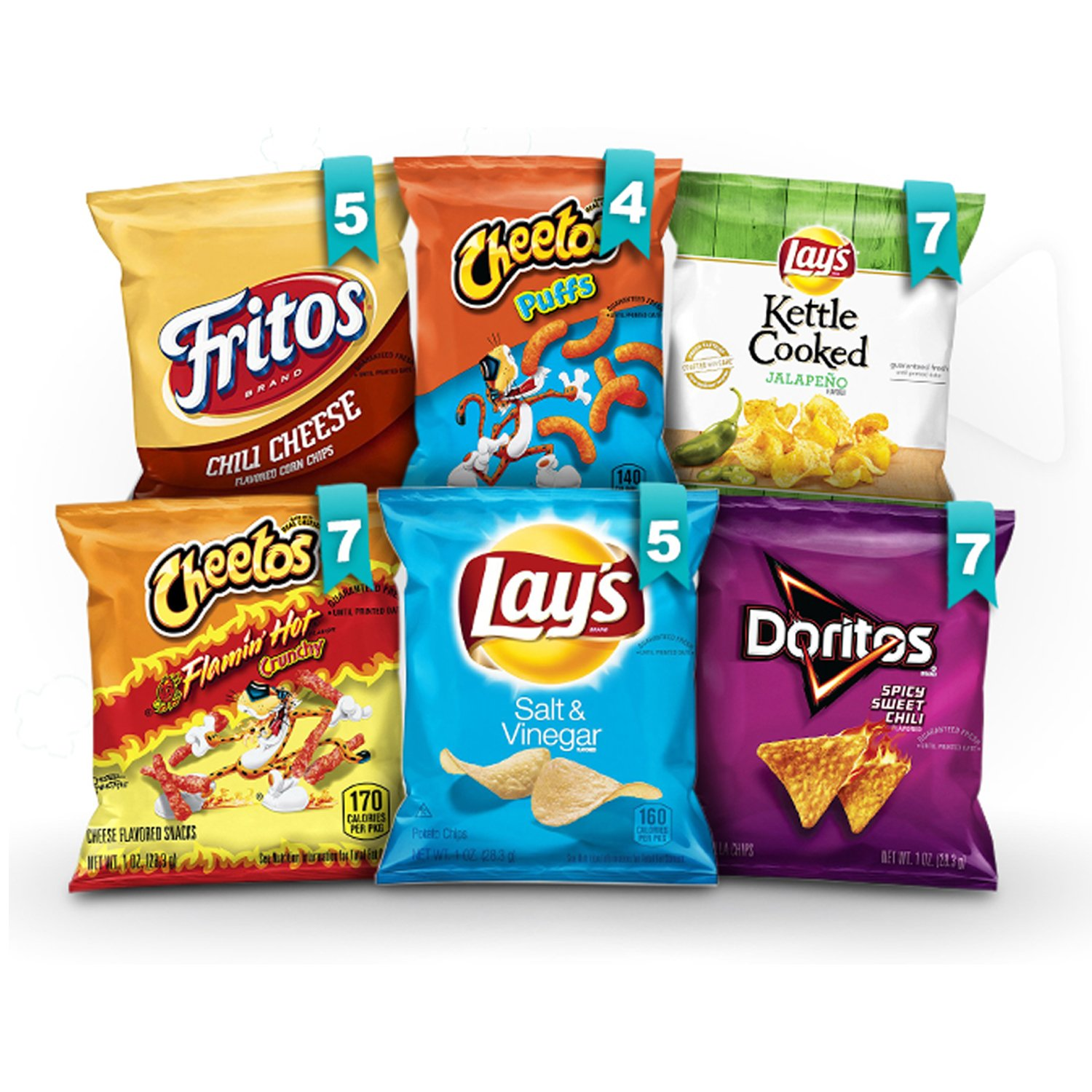 Amazon.com deals on Frito-Lay Bold Mix Variety Pack, 35 Count