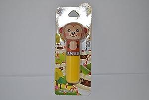 Lip Smacker Lippy Pals Lip Balm - Swinging Banana Split Flavor 0.14 oz