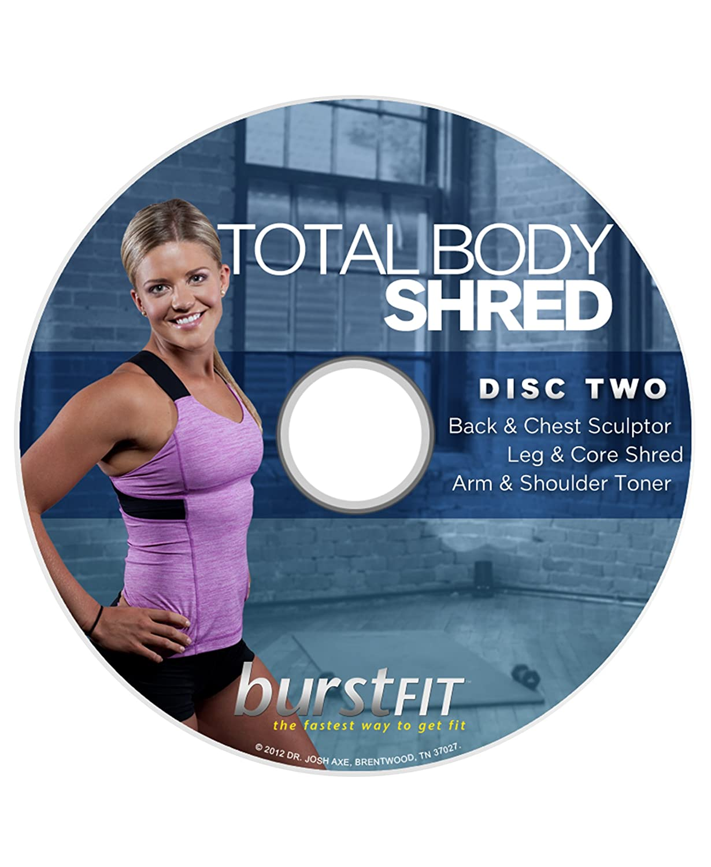 Amazon Com Burstfit Dr Josh Axe S Complete Home Fitness Workout