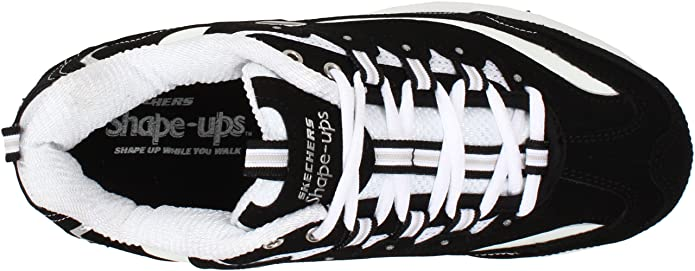 SKECHERS Sketchers Shape Ups Strength BlackWhite Shoes