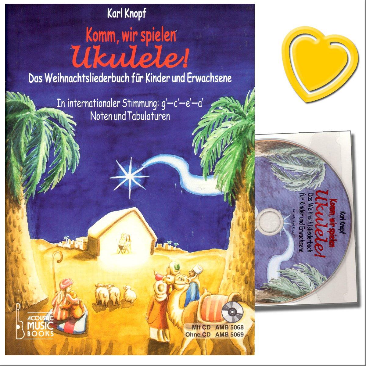 Komm, wir spielen Ukulele! Schönsten Weihnachtslieder für Ukulelen ...