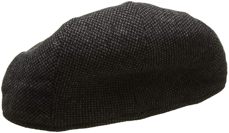 773486ba152 Hackett London Men s Balmoral Tweed Her Flat Cap  Amazon.co.uk  Clothing