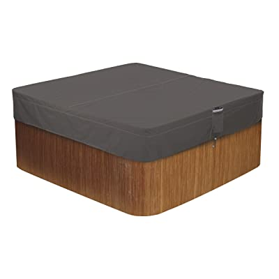 Classic Accessories Ravenna Square Hot Tub Cover
