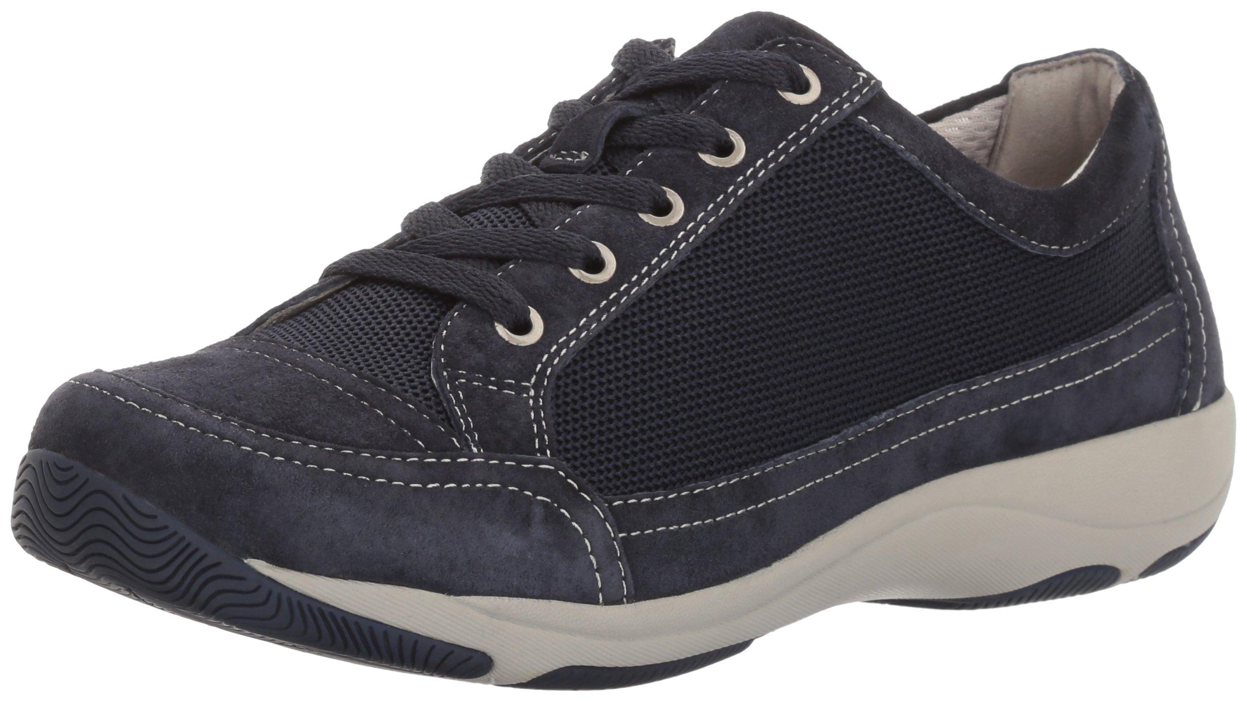 Dansko Women's Harmony Fashion Sneaker, Navy Suede, 41 EU/10.5-11 M US