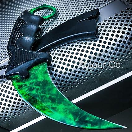 Amazon.com: CS: GO Esmeralda Gamma Doppler Karambit Hawkbill ...
