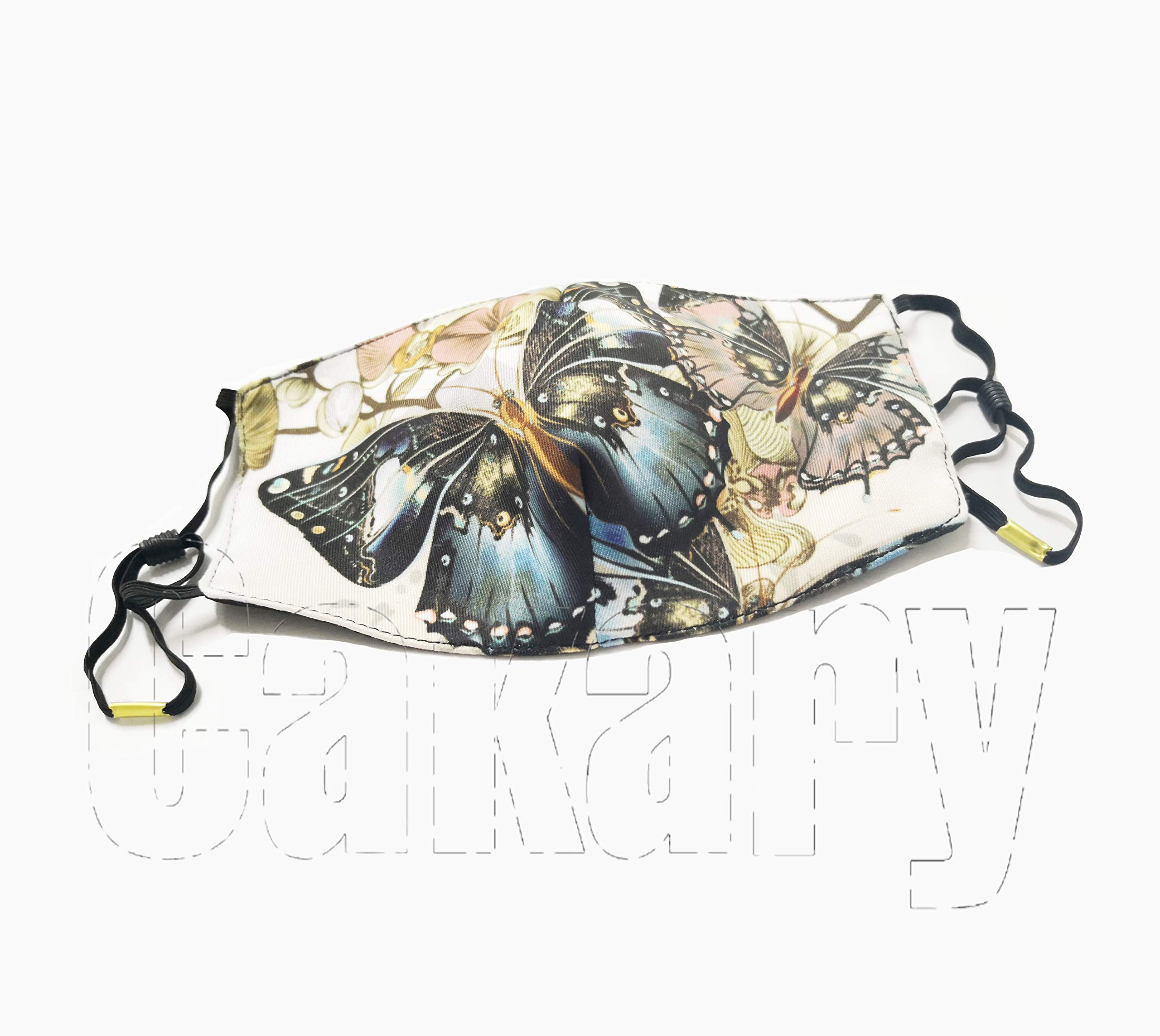 N7bloom Boys Winter Warm Mouth Anti-Dust Flu Face Mask Orchid Butterfly by N7bloom (Image #5)