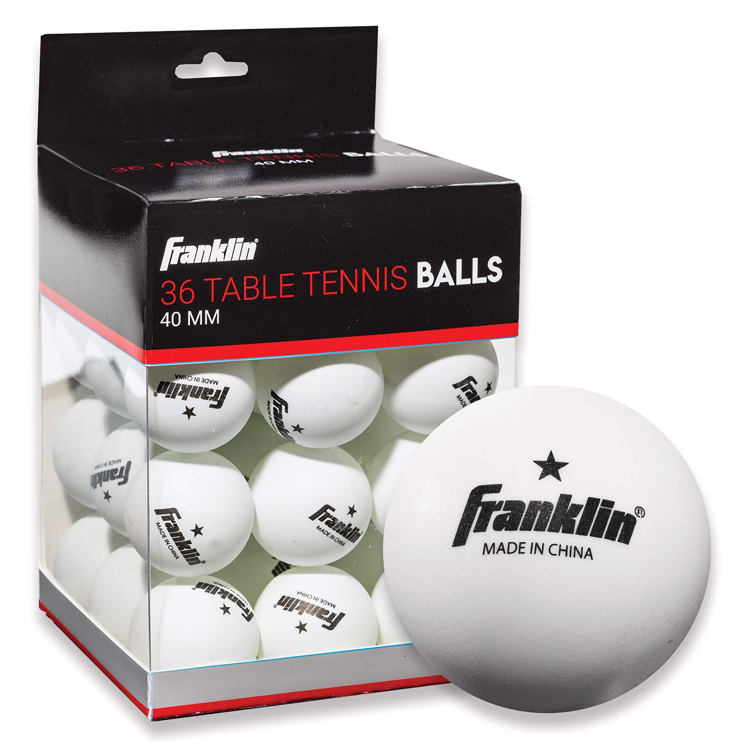 36 Pelotas de Ping Pong 1 Estrella Franklin Sports