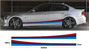 Bmw Ss20009 Grafischer Aufkleber Für Autoseiten Set M Für Bmw Spor E30 E36 E39 E46 E60 E90 M3 M5