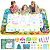 Obuby Water Magic Drawing Mat Kids 47x35 Inches Doodle Gifts Color Draw Board No Mess Coloring Painting Writing Educational T