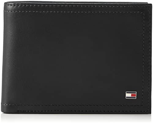 da27dd7c0a Tommy Hilfiger HARRY CC FLAP AND COIN POCKET Borse Uomo, Nero (Black)  14x32x47 cm (W x H x L): Amazon.it: Scarpe e borse