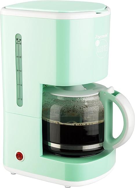 Bestron ACM300EVM Cafeteras de Goteo, Plástico, Verde: Amazon.es: Hogar