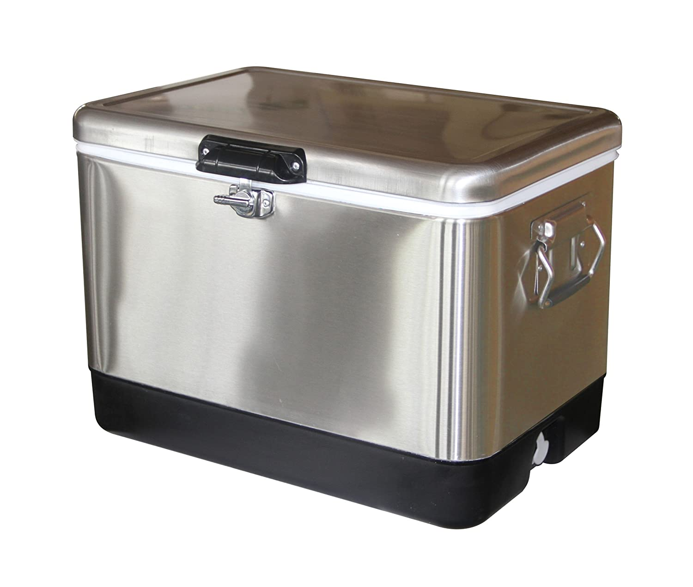 Perfect Amazon.com : Leisure Season Stainless Steel Cooler : Outdoor Kitchen Cooler  Bins : Garden U0026 Outdoor