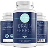 Brain Booster Supplement - Brain Focus Nootropics - Enhanced Memory - Clarity - Mood - Developed by Mental Health Professiona