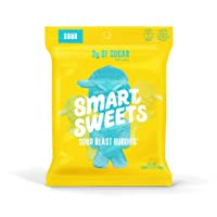 SmartSweets Sour Blast Buddies 1.8 Ounce (Pack of 12), Candy With Low-Sugar (3g)...