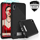 LeYi Samsung Galaxy A10 Case with Tempered...
