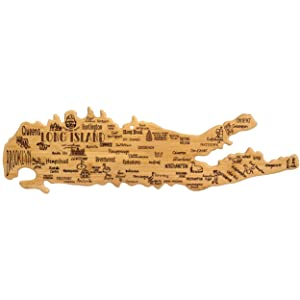 Totally Bamboo Long Island Destination Bamboo Serving and Cutting Board