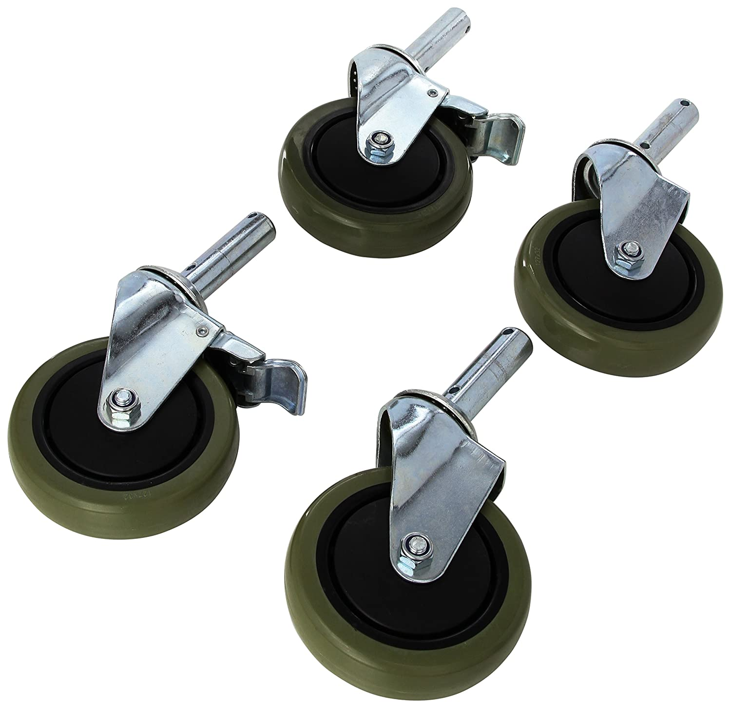 Lumex 7910A-CST Replacement Casters for 7910A-1 and 7915A-1 Shower Chairs (Pack of 2) by Lumex B001O4SCAQ
