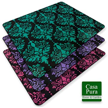 Superieur Casa Pura Design Chair Mat | Carpet And Hard Floor Protector For Computer  Chair | Decorative