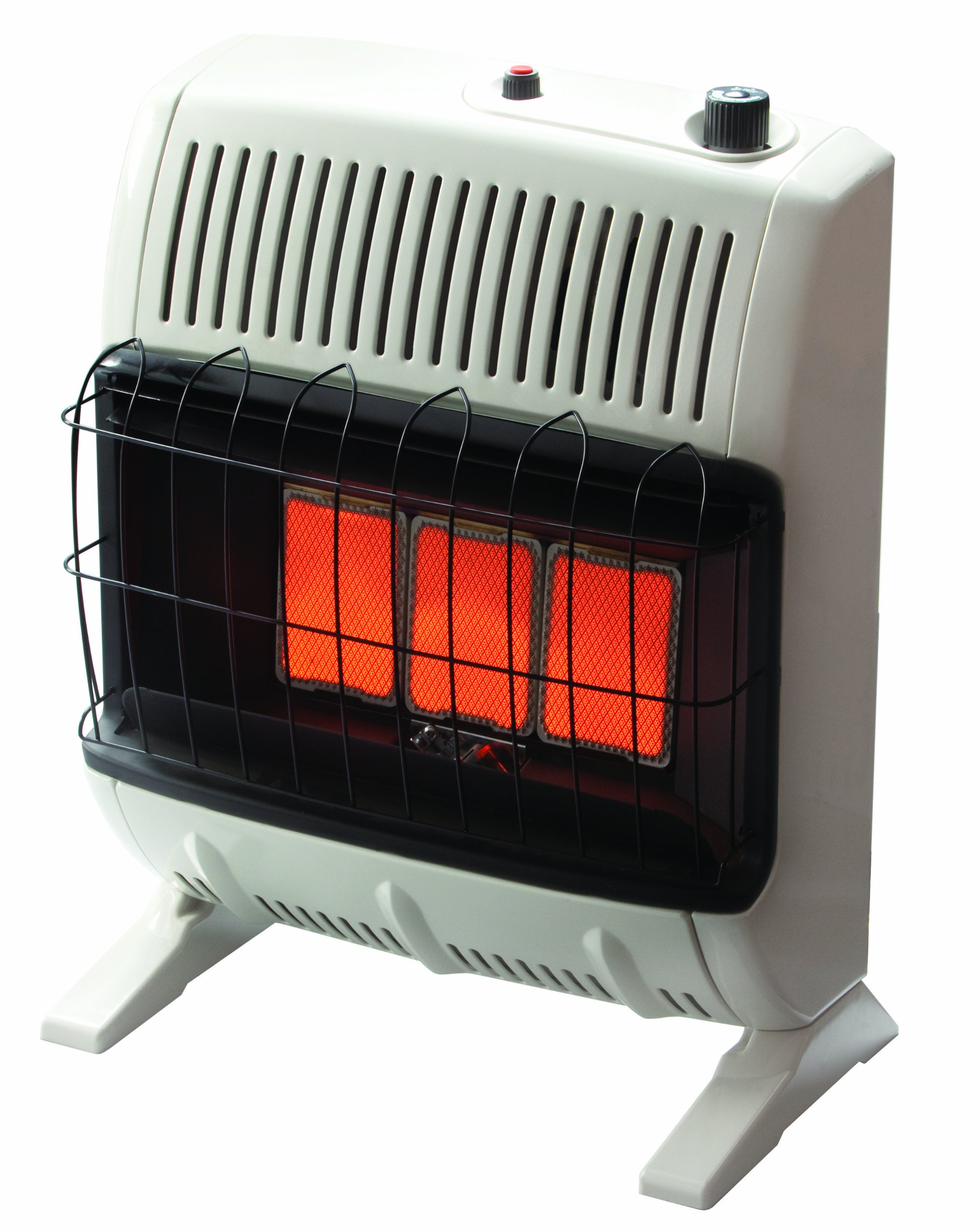 Heatstar By Enerco F156050 Ventfree Infrared Propane Heater with Thermostat HSVFR20LPBT, 20K