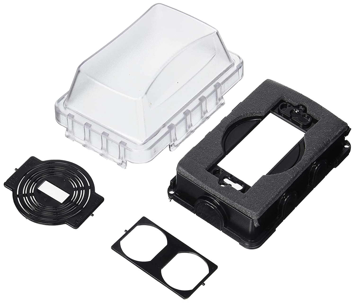 Taymac MM410C Weatherproof Single Outlet Cover Outdoor Receptacle ...