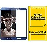 Kohinshitsu Honor 8 Pro Screen Guard - Kohinshitsu 3D Tempered Glass Screen Protector for Honor 8 Pro Mobile Phone 2017 Model - Blue Color