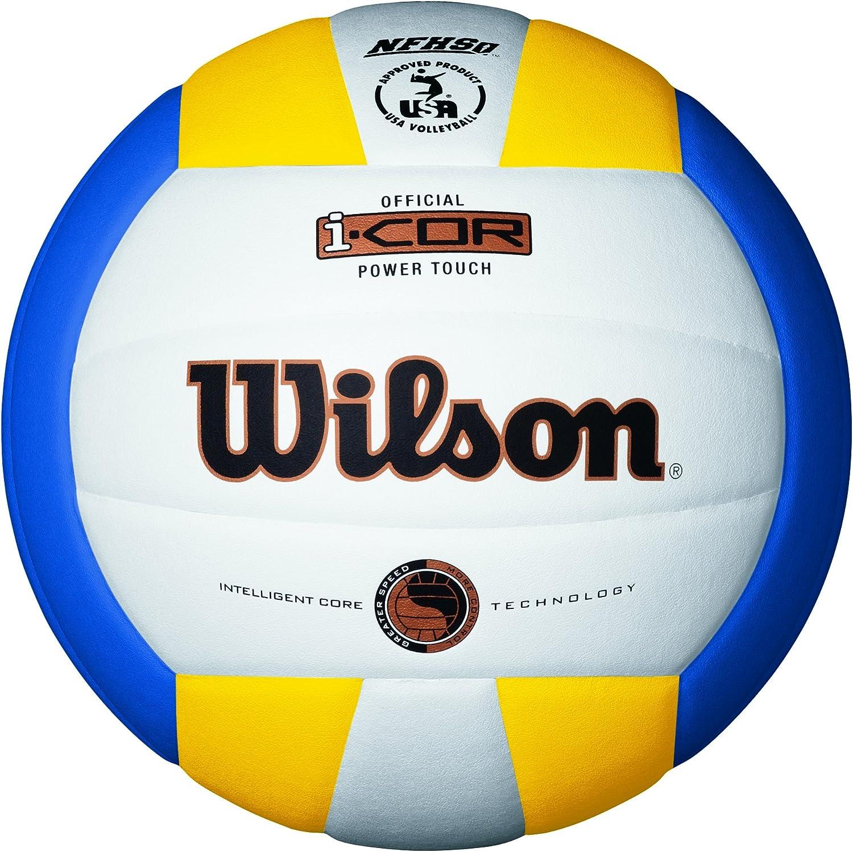 Wilson I-Core Power Touch Balón, Blanco/Azul/Amarillo, 7: Amazon ...