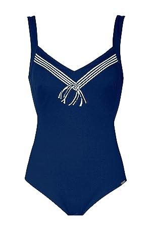 Charmline.Badeanzug fur Frauen. Mod.1848 Dis.657 (DE 44C, 116 Navy ... 37be8e2830