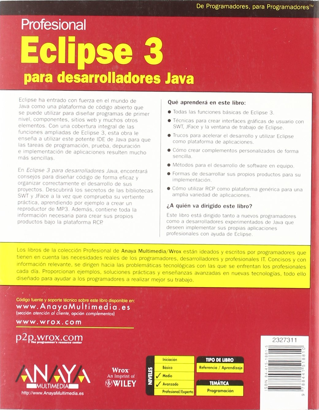 ebook programación eclipse
