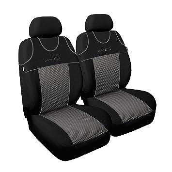 2x LKW Sitzbezüge Polyester Schonbezüge Grau Komfort für