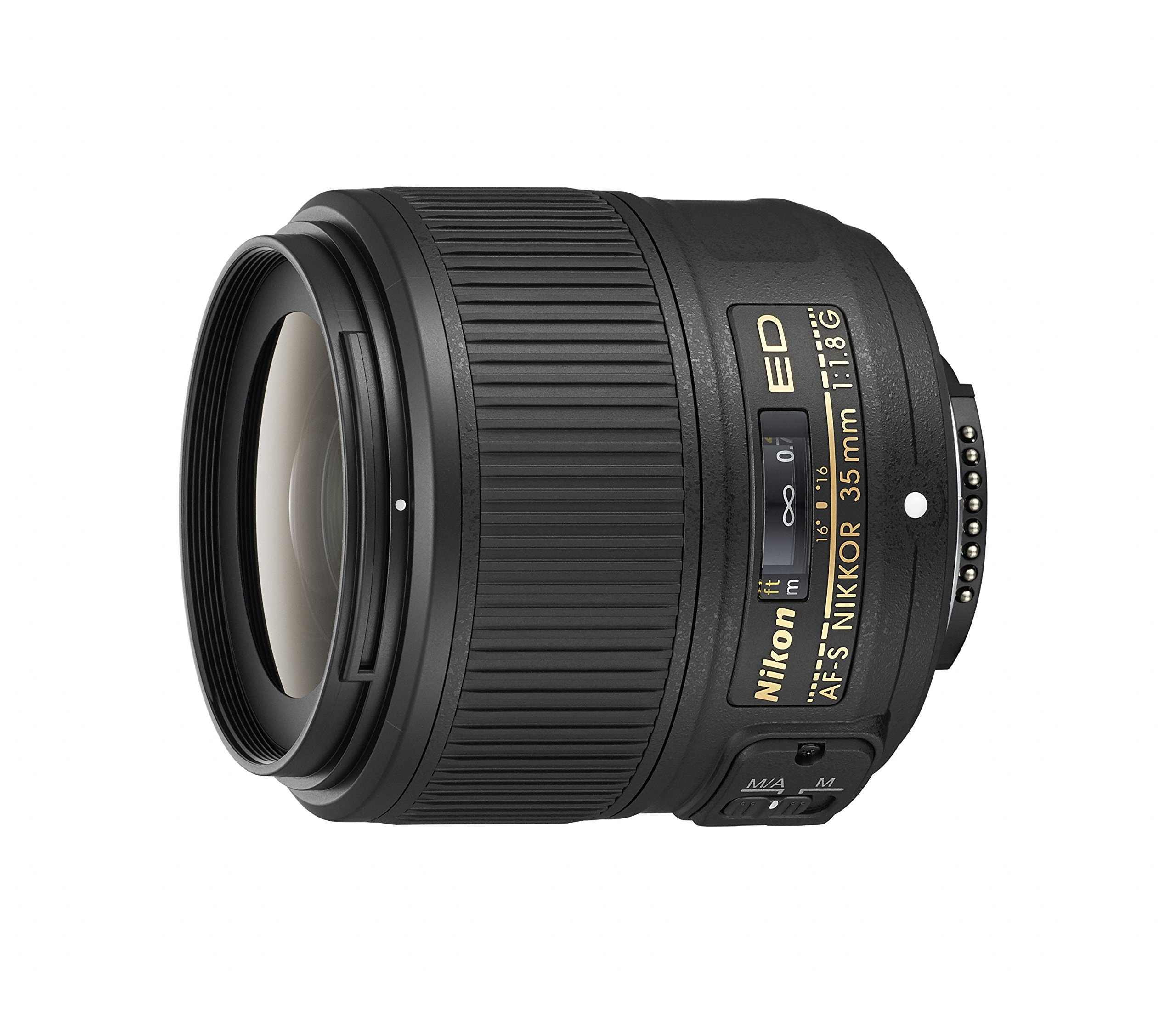 Nikon AF-S NIKKOR 35mm f/1.8G ED Fixed Zoom Lens with Auto Focus for Nikon DSLR Cameras by Nikon