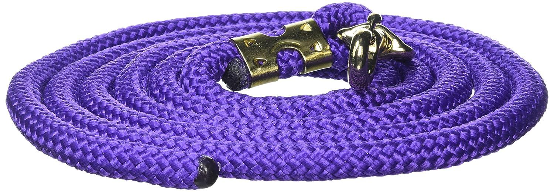 William Hunter Equestrian Hy Platied Lead Rope - 3m - purple