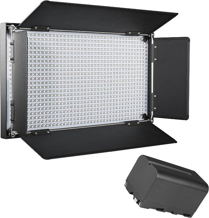 Walimex Pro Led Brightlight 876 Bi Color Akku Set Inkl Kamera