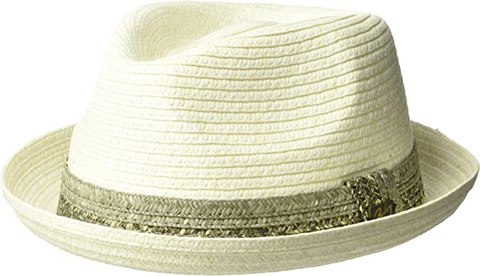 Bailey Mens Pelly Braided Fedora Trilby Hat