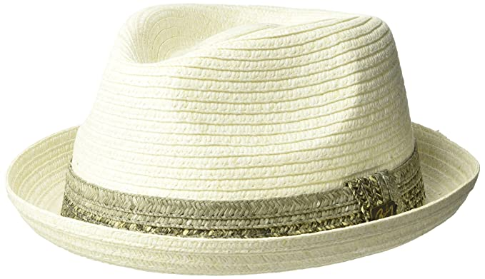 b438d6cee37 Bailey Men s Pelly Braided Fedora Trilby Hat  Amazon.co.uk  Clothing