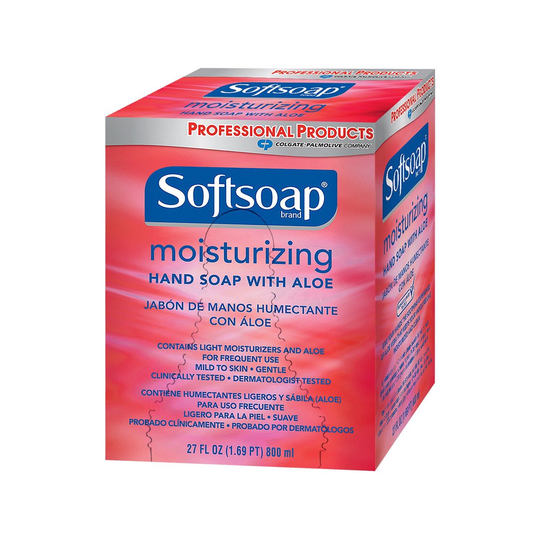 Softsoap 01924 Soothing Aloe Vera Hand Soap, 800 ml (Case of 12)