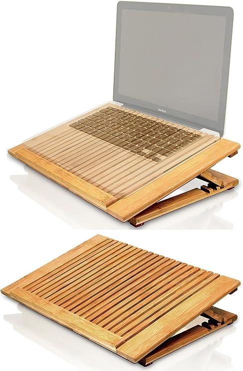 Macally EcoFan Pro bambú ventilador de refrigeración USB Soporte ...