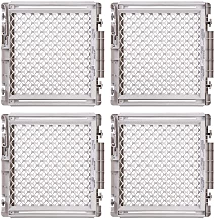 This Classically Styled Plastic Safety Gate Is Hardware Mounted For Use  Between Rooms Or At The Top And Bottom Of Stairs. As A Multipack, Youu0027re  Sure To ...