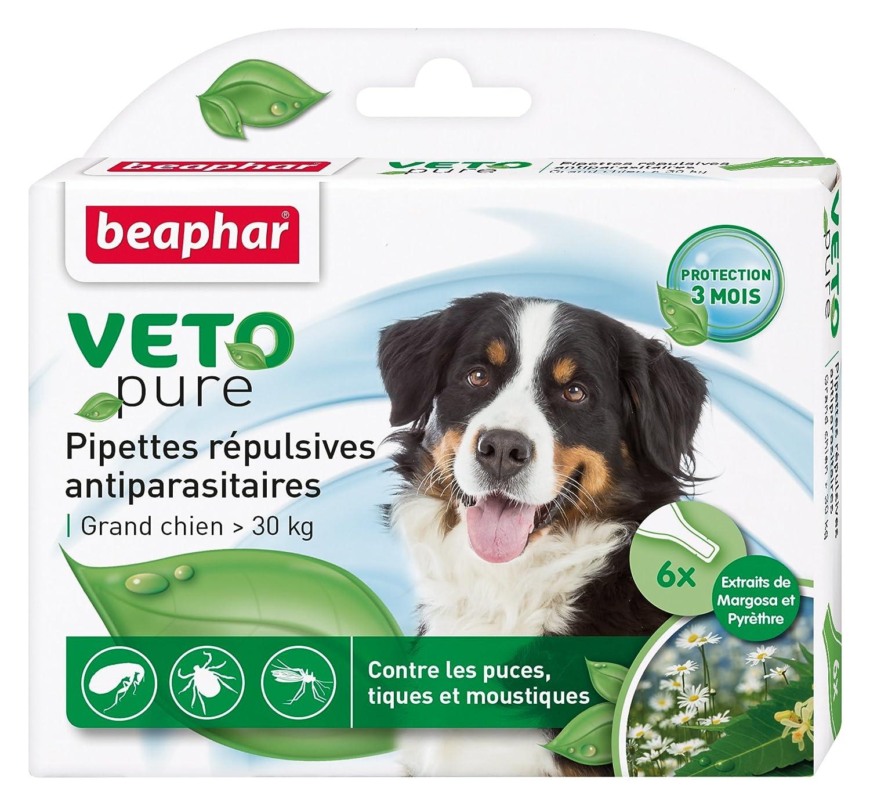 Beaphar VETOpure - Pipetas antiparásitas para perros: Amazon.es: Productos para mascotas
