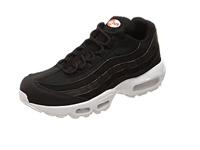 buy popular da9b4 1b592 Nike Men s Air Max 95 Premium SE Gymnastics Shoes, Black (Black Black