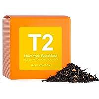 T2 Tea - New York Breakfast Black Tea, Loose Leaf in a Box 100g (3.5oz)