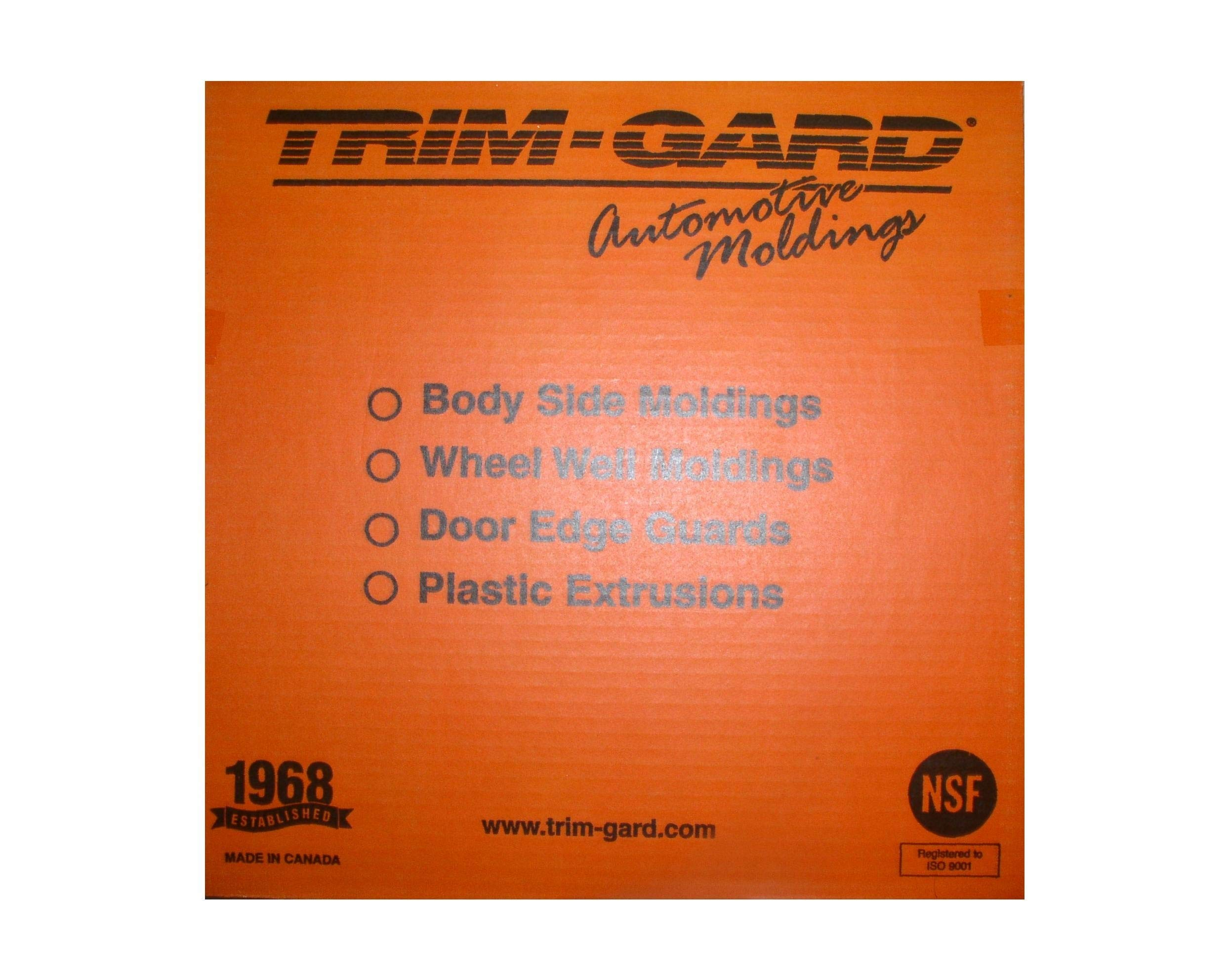 Trim-Gard 9/32'' Small Half Round Stick On Wheel Well Molding (Chrome, 150 Feet)