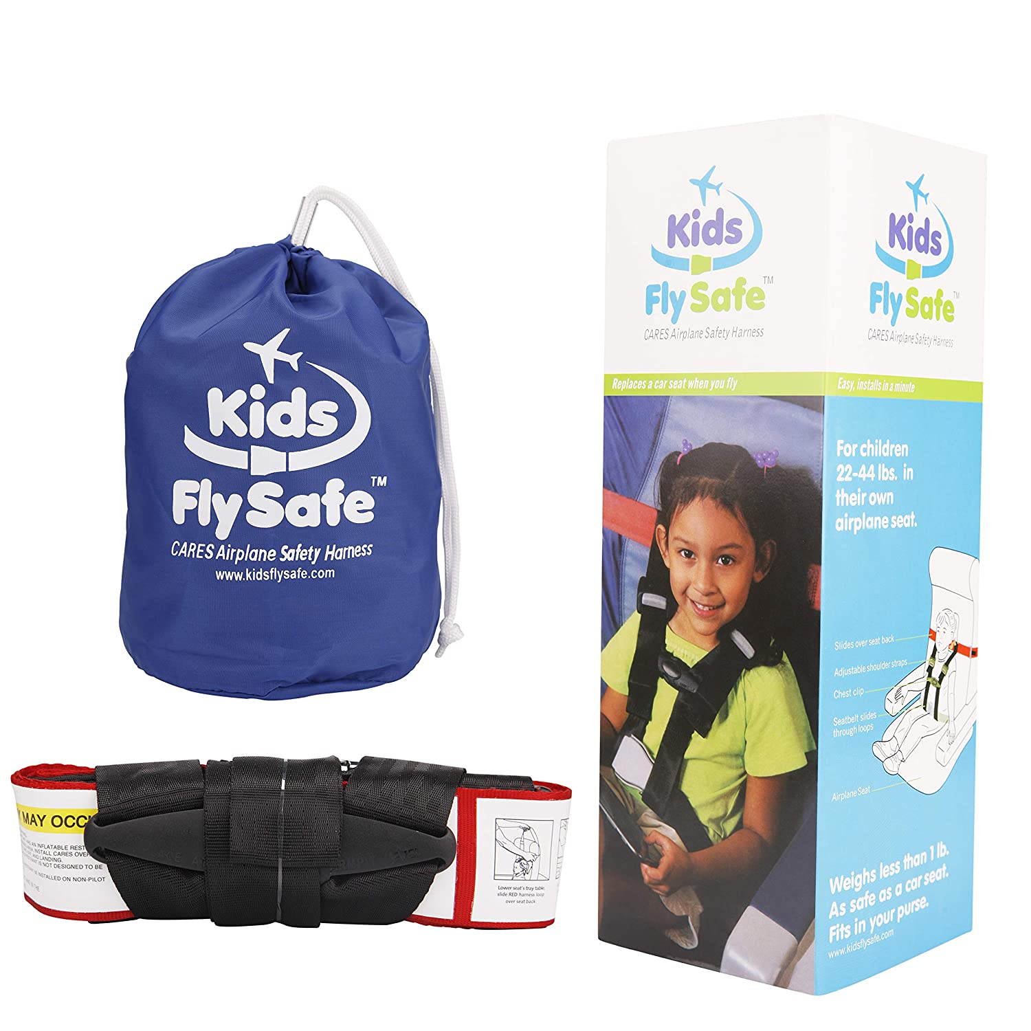 Luxurious Style Child Airplane Safety Travel Harness ~ Clip Strap Safety Airplane Child Restraint System for Baby,Toddlers /& Kids ~ Airplane Travel Accessories for Aviation Travel Use