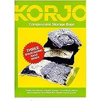 Korjo 3 Pack Compression Storage Bag Set